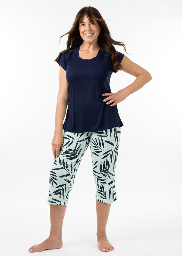 Ladies Sleepwear - 3/4 PJ Pant Bermuda