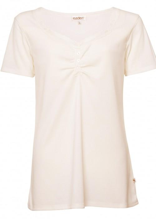 Secret Support Short Sleeve Top – Gardenia