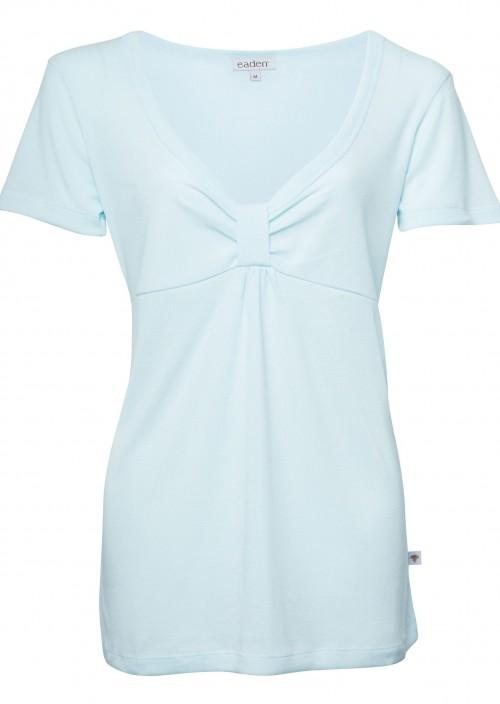 Eva Short Sleeve Top – Blue