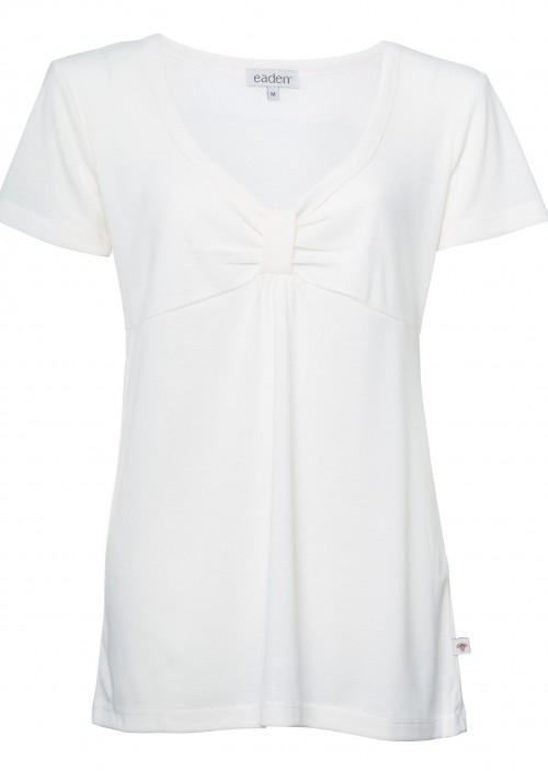Eva Short Sleeve Top – Gardenia