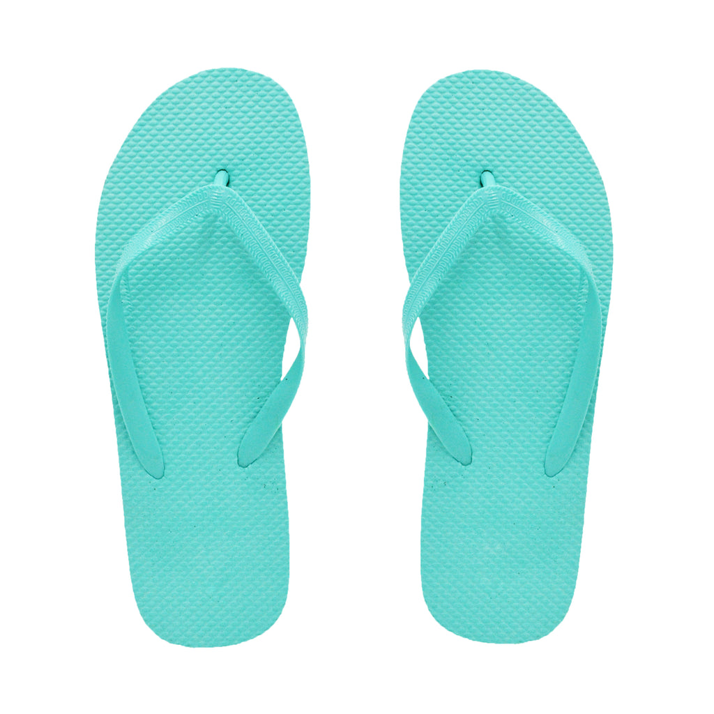 Tiffany Blue Flip Flops