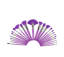 Load image into Gallery viewer, THE NEON PURPLE 24 PC BRUSH SET