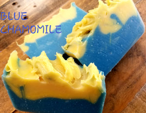 Blue Chamomile Olive Oil soap