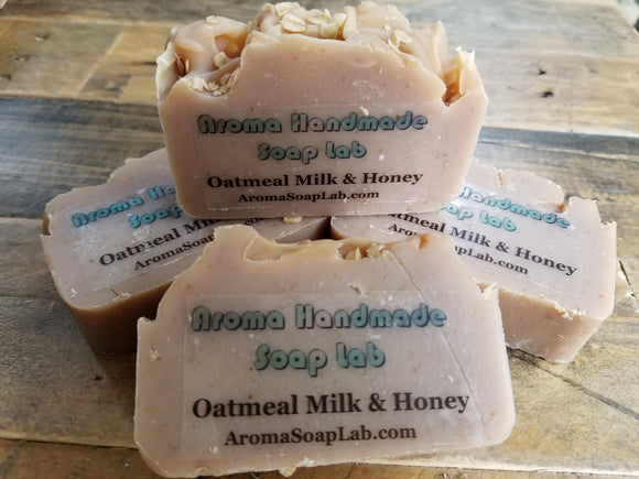 Oatmeal  Milk & Honey Olive Oil soap