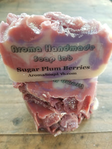 Sugar Plum Berry Olive Oil Soap