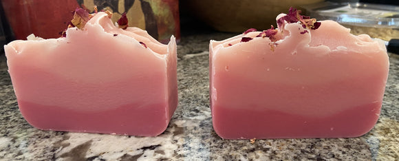 Wild Rose Olive Oil Soap