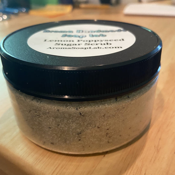 Lemon Poppyseed Sugar Scrub