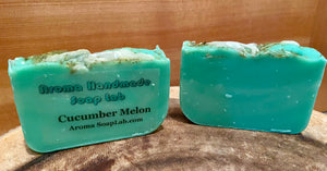 Cucumber Melon Olive Oil Soap