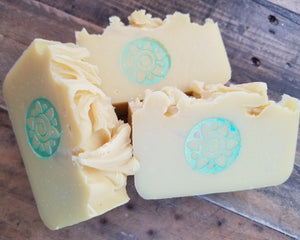 Lemon Verbena Olive Oil cold process soap