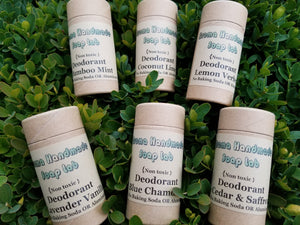 Natural Deodorant Choose your scent 70 ml