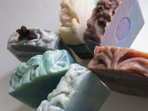6 Bars Olive Oil Soaps (Choose Your Scent)