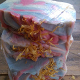 HoneySuckle Cold Process Olive Oil Soap