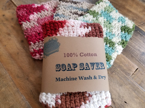 100% Cotton Soap Saver