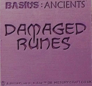 BASIUS : DAMAGED RUNES
