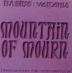 BASIUS : MOUNTAIN OF MOURN