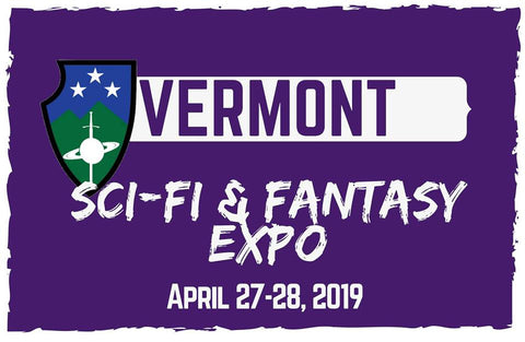 Vermont Sci-Fi and Fantasy Expo Logo