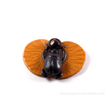 Tiger's Eye Scarab Pendant