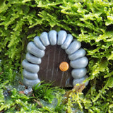 Mini Fairy Door Blue Dragon Collectibles