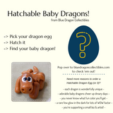 Hatchable Baby Dragon Eggs by Blue Dragon Collectibles