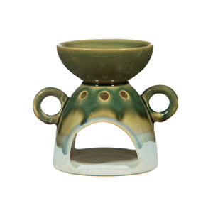 Mojave Glaze Green Oil Burner