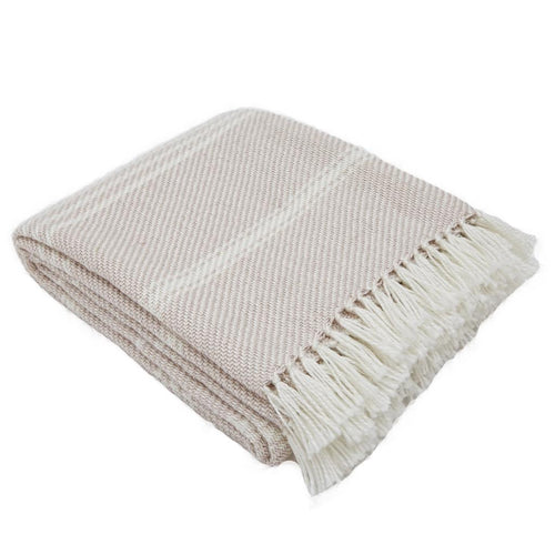 Oxford Stripe Shell Blanket
