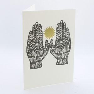 'Two Hands' Card