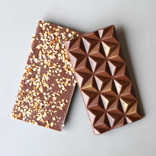 Vegan Milk Chocolate Hazelnut Bar