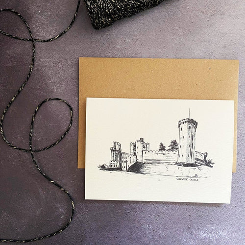 'Warwick Castle' Card