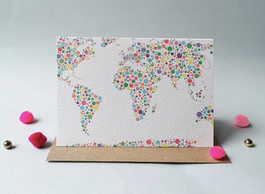 'Around the World' Card