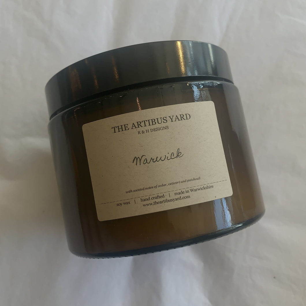 'Warwick' Grand Soy Wax Candle