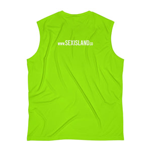 Men's Sleeveless Limited Edition Sex Island Las Vegas