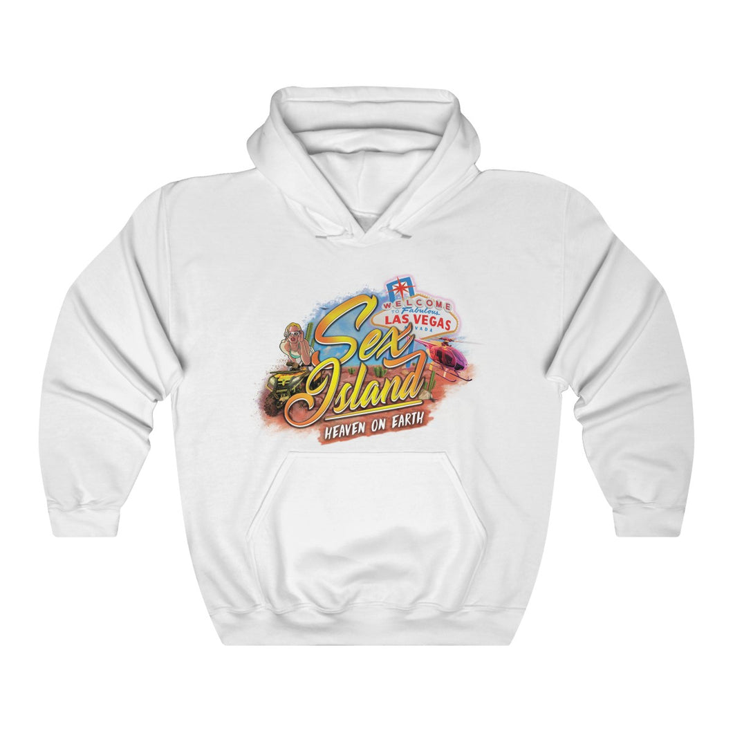 Sex Island Las Vegas Hooded Sweatshirt