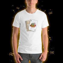 Load image into Gallery viewer, White Sex Island Poker T-shirt