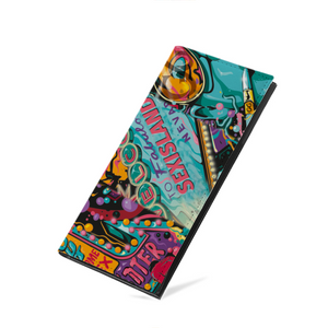 Pop Art Leather Multi-Card Long Bifold Wallet