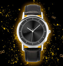 Load image into Gallery viewer, GG V3 Black & Silver Watch