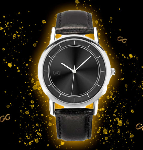 GG V3 Black & Silver Watch
