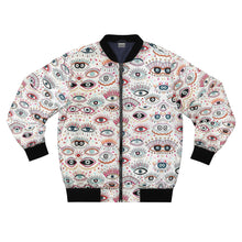 Load image into Gallery viewer, Eyes Men's AOP Bomber Jacket