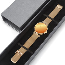 Load image into Gallery viewer, GG Gold Luxury Watch Milanese Band