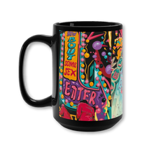 Load image into Gallery viewer, Sex Island Black Mug 15oz