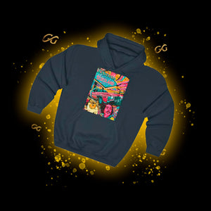 Pop Art V2 Hooded Sweatshirt