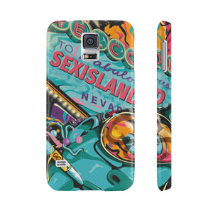 Sex Island Pop Art Slim Phone Case