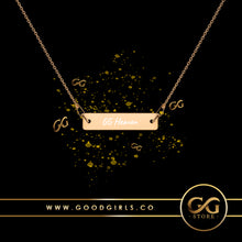 Load image into Gallery viewer, GG Heaven Engraved Chain Necklace