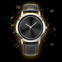 Load image into Gallery viewer, GG Black & Silver Watch