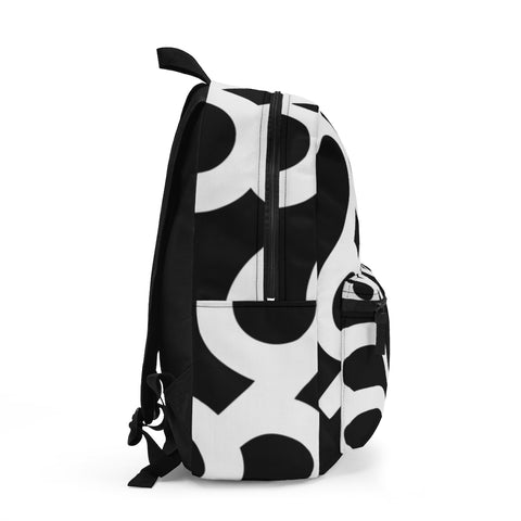 Dubai Black and White Backpack (Made in USA)
