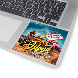 Sex Island Sticker Logo