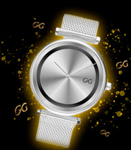 Load image into Gallery viewer, GG Silver Watch Milanese Band