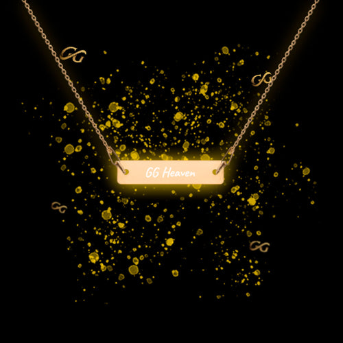 Heaven On Earth Engraved Chain Necklace