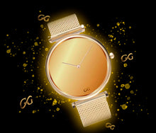 Load image into Gallery viewer, GG Luxury Watch V2 Milanese Band