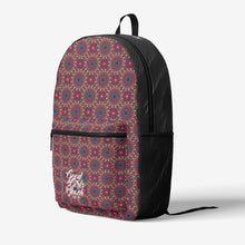 Load image into Gallery viewer, Retro Colorful Print Trendy Backpack
