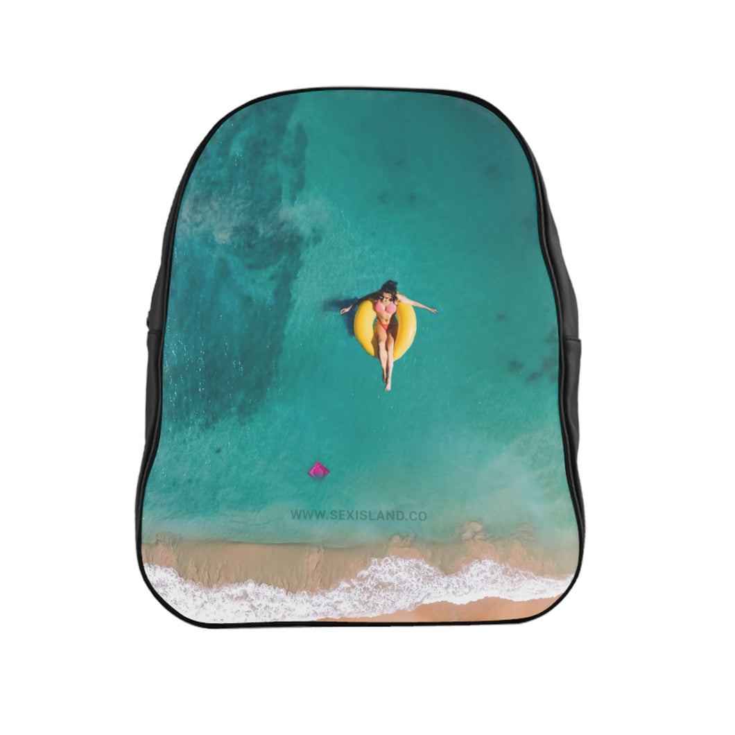 School Backpack Sex Island